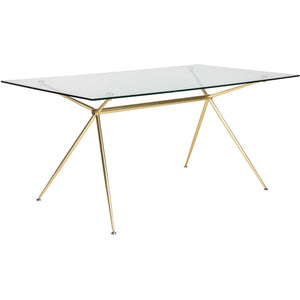 ATOS 66-INCH DINING TABLE - Fast Ship Furniture