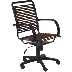 BUNGIE FLAT HIGH BACK OFFICE CHAIR - Fast Ship Furniture