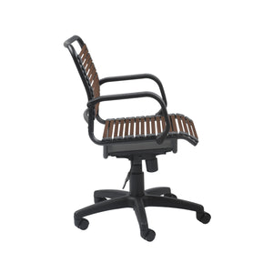 Bungie Flat Mid Back Office Chair - Fast Ship Furniture