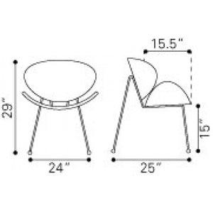 Match Chair (Set of 2) - Fast Ship Furniture