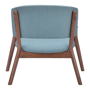 Chapel Lounge Chair Blue (Set of 2) - Fast Ship Furniture