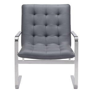 Solo Occasional Chair Gray - Fast Ship Furniture