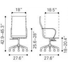 Load image into Gallery viewer, Glider Hi Back Office Chair - Fast Ship Furniture