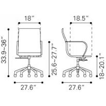 Load image into Gallery viewer, Glider Low Back Office Chair - Fast Ship Furniture