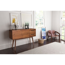 Load image into Gallery viewer, Cooper Whiskey Cabinet Dark Chestnut - Fast Ship Furniture