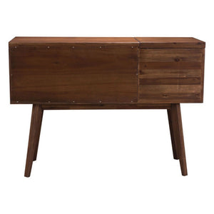 Cooper Whiskey Cabinet Dark Chestnut - Fast Ship Furniture
