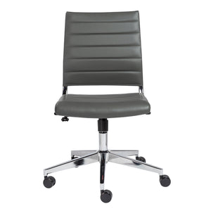 Brooklyn Armless Low Back Office Chair - Fast Ship Furniture