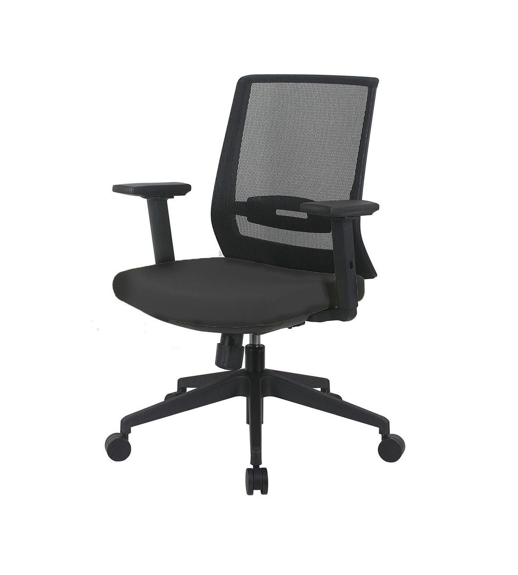 Shop Online Fiona Contemporary Mesh Back Office Chair - Fast Ship Furniture