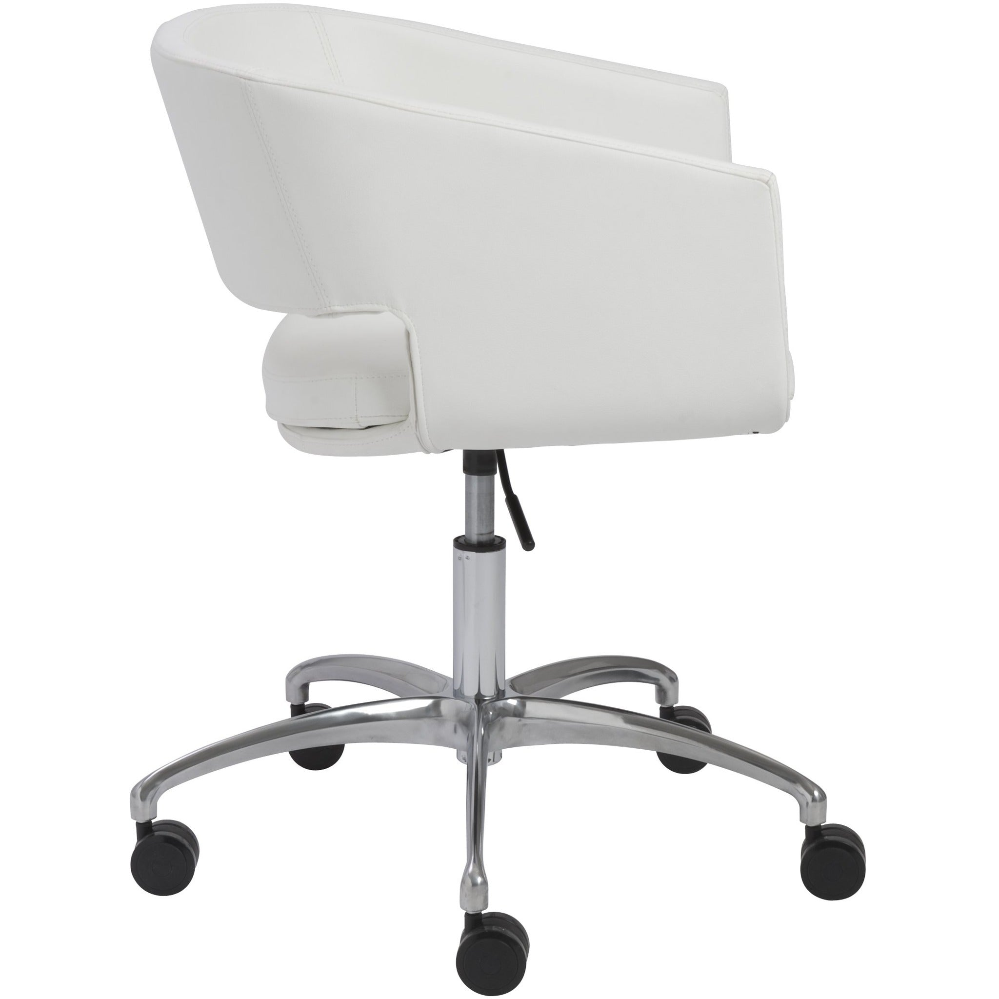 Shop Online Amelia Modern Reception Chairs In White Gray