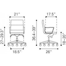 Load image into Gallery viewer, Engineer Low Back Office Chair - Fast Ship Furniture