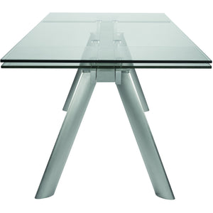 DELANO 102-INCH EXTENSION TABLE - Fast Ship Furniture