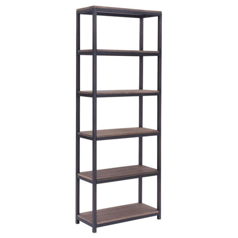 Mission Bay Tall Six Level Shelf - Fast Ship Furniture