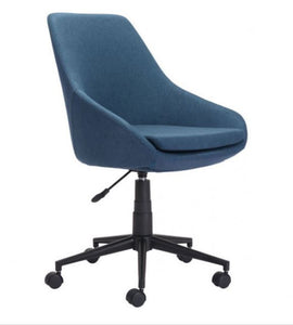 Powell Office Chair Blue - Fast Ship Furniture