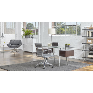 AXEL LOW BACK OFFICE CHAIR - Fast Ship Furniture