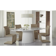 Load image into Gallery viewer, DEODAT 79-INCH OVAL DINING TABLE - Fast Ship Furniture