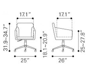 Bronx Office Chair - Fast Ship Furniture