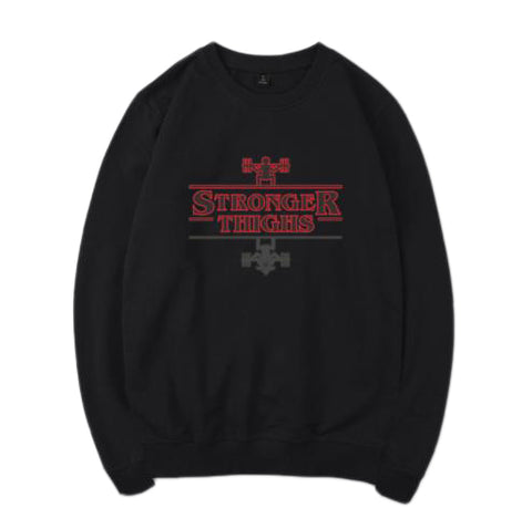 Stronger Thighs Gym Sweatshirt