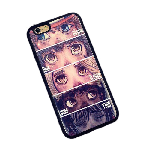 Pretty Anime Dustin Mike Eleven Lucas Will Phone Case for iPhone