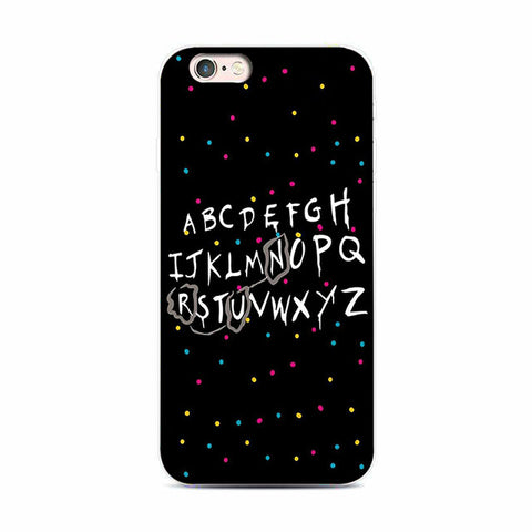 Alphabets RUN Message Case for iPhone & Samsung