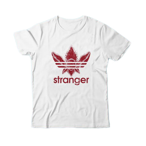 Stranger Monster Badge Inspired by Adidas T-Shirt