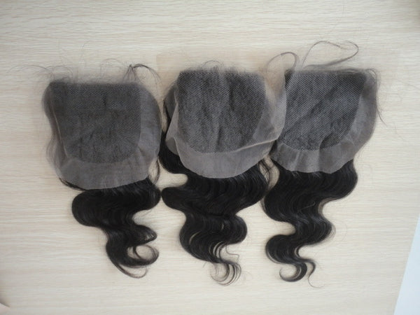5X5 Peruvian Lace Closures
