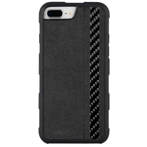 iPhone 6/7/8 PLUS Alcantara & Real Carbon Case | ARMOR Series