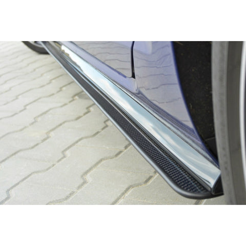 VW GOLF VII R (MK 7.5) - RACING SIDE SKIRTS DIFFUSERS