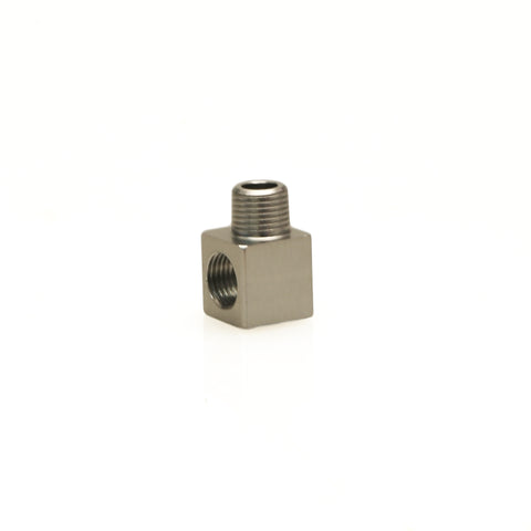 FPR 1/8 NPT Male - 1/8 NPT Female 90° Fitting