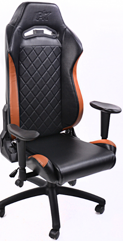 FK sport setat office chair gaming seat Liverpool black/brown swivel chair revolving chair