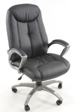 Office Chair Jersey City black with armrests