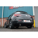 Astra J GTC 1.4T Secondary cat-back system (Oval Evo trim)
