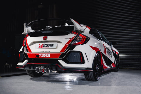 Honda Civic Type R FK8 RHD exhausts