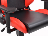FK sport setat office chair gaming seat Liverpool black/red swivel chair revolving chair