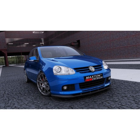 FRONT SPLITTER VW GOLF MK5 (FIT ONLY WITH VOTEX FRONT LIP)