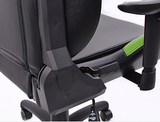 FK sport setat office chair gaming seat Liverpool black/green swivel chair revolving chair