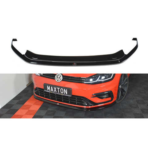 FRONT SPLITTER V.6 VW GOLF VII R (MK 7.5)