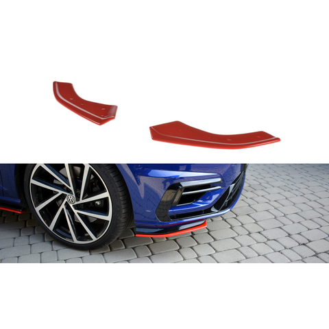 FRONT SPLITTER V.8 VW GOLF VII R (MK 7.5)