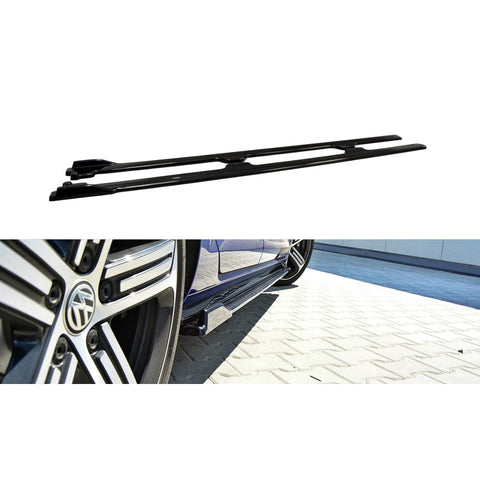 SIDE SKIRTS DIFFUSERS VW GOLF VII R (MK7.5)