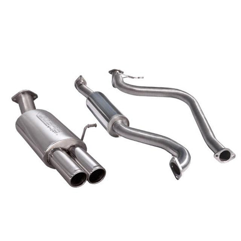 Ford Fiesta (MK7) Zetec 1.0L Eco-Boost Cat Back Performance Exhaust