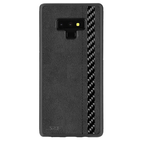 Samsung Note 9 Alcantara & Real Carbon Case [Limited Production]