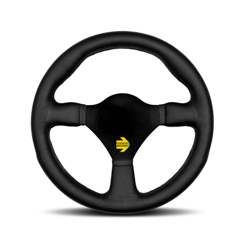 Mod.26 Steering Wheel - Black Leather