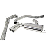 Seat Leon Cupra Mk2 1P 2.0 T FSI (06-12) Turbo Back Performance Exhaust