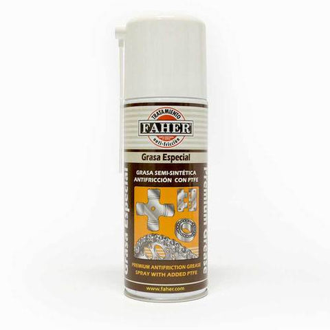 Faher premium anti-friction grease spray added PTFE