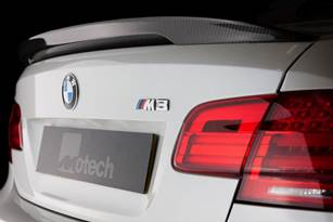 Carbon fibre Ducktail boot spoiler (E92 M3 2007-2013)