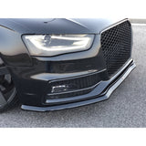FRONT SPLITTER V.1 AUDI S4 B8 FACELIFT (2012-UP)