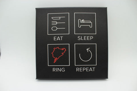 Eat Sleep Ring Repeat - Print On Canvas