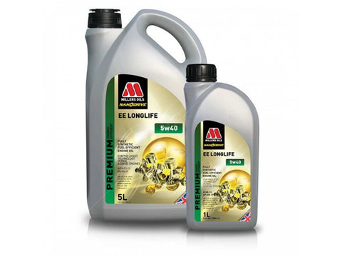 Millers EE Longlife 5w40 Engine Oil