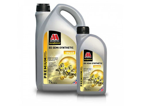 Millers EE Semi Synthetic 10w40 Engine Oil