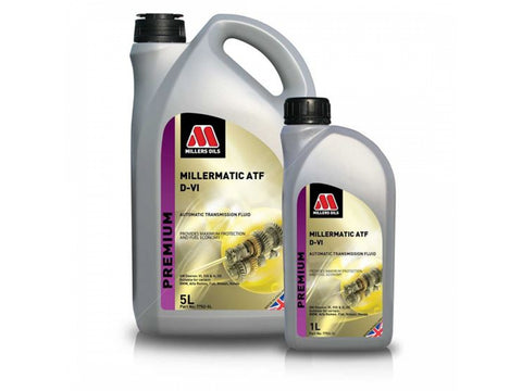Millers Millermatic ATF DCT DSG Transmission Oil