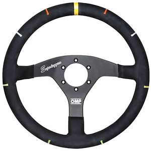 OMP RECCE ALUMINIUM STEERING WHEEL SUPER PROFESSIONAL RALLY WRC